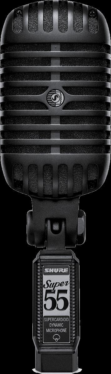 Micro Shure filaire SUPER55-BLK - Voir en grand