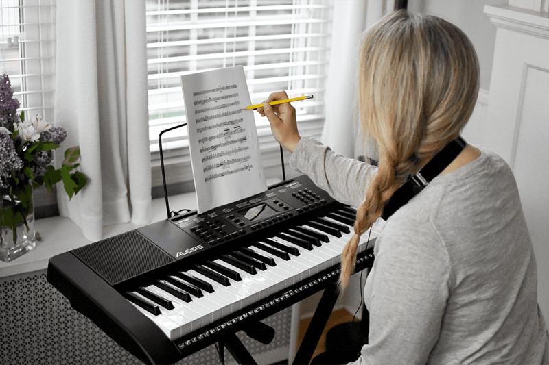 Clavier Alesis HARMONY61MKII -4 - Voir en grand