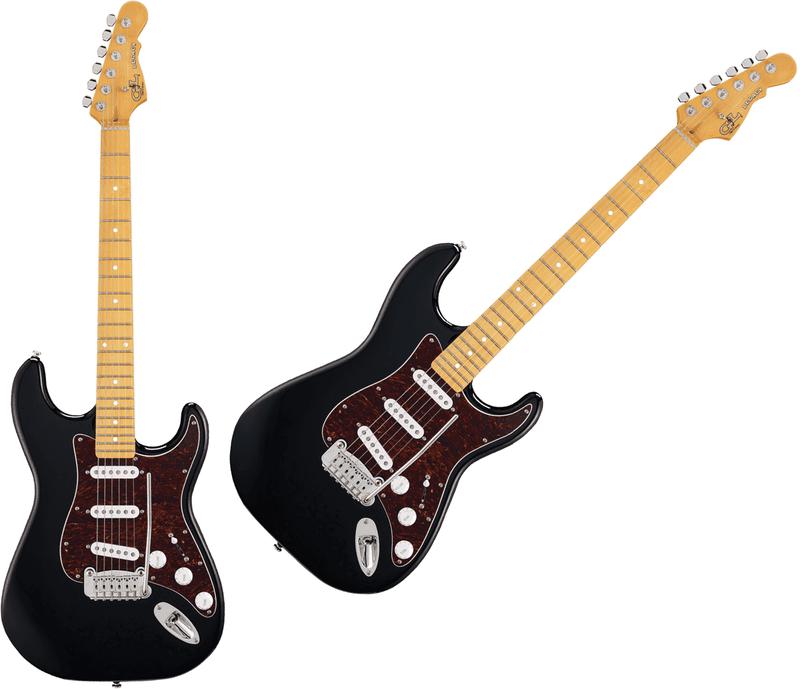 Guitare G&L Standard TLEG-BLK-M. - Voir en grand