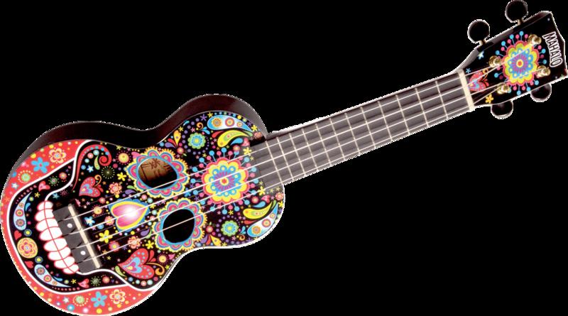 Ukulélé Mahalo Crâne Mexicain - Voir en grand