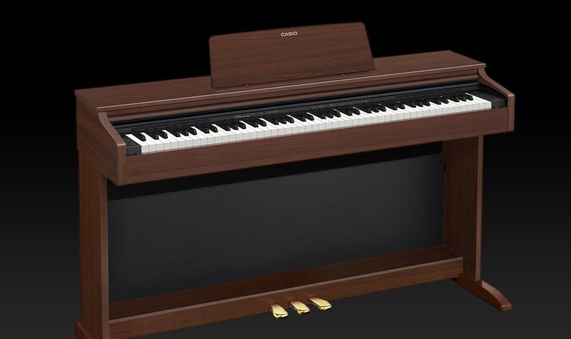 Piano numérique Casio AP-270 marron - Voir en grand