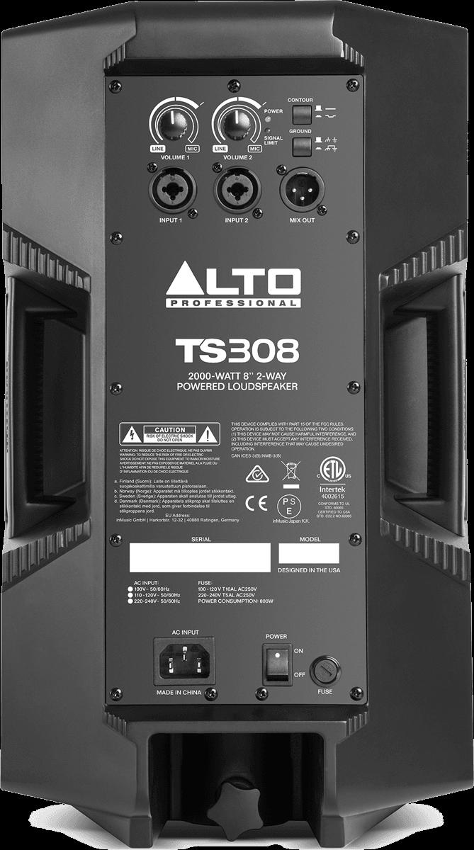 Enceinte Alto Pro SONO TS308-2 - Voir en grand