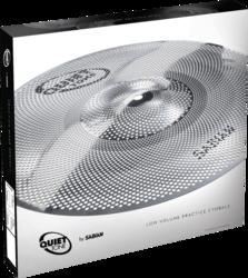 Pack Cymbales Quiet Tone QTPC502 - Voir en grand