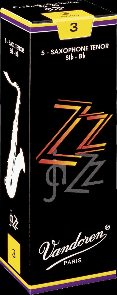 Anches Saxophone Ténor Sib Vandoren ZZ - Voir en grand
