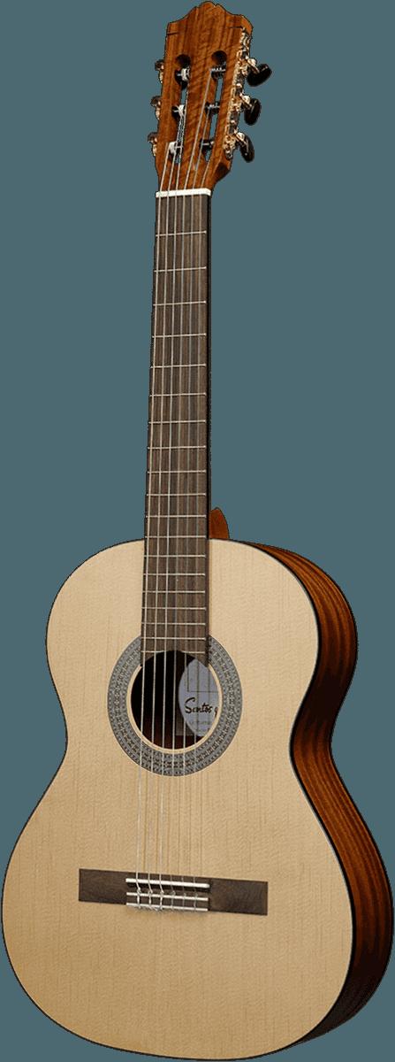 Guitare classique GSM 7-3 ¾ & ½.png - Voir en grand