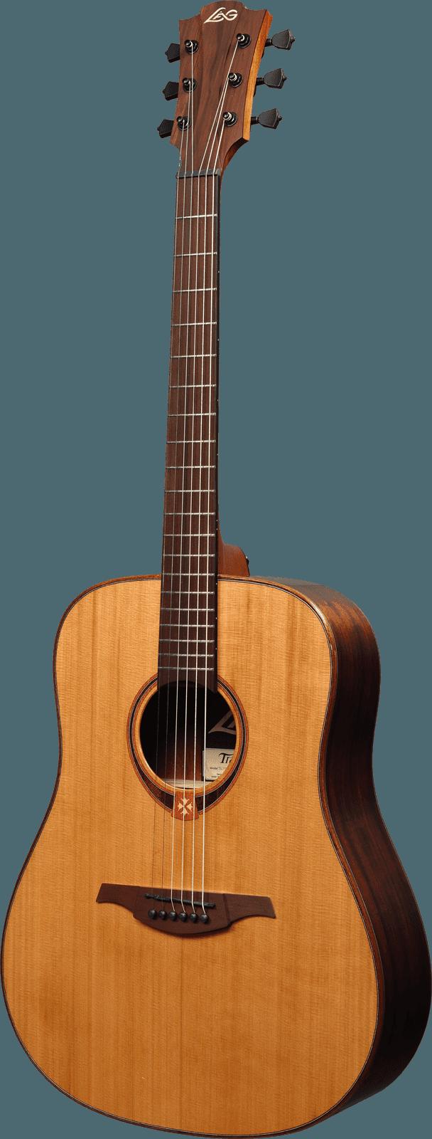 Guitare folk Lâg TL118D GAUCHER - Voir en grand