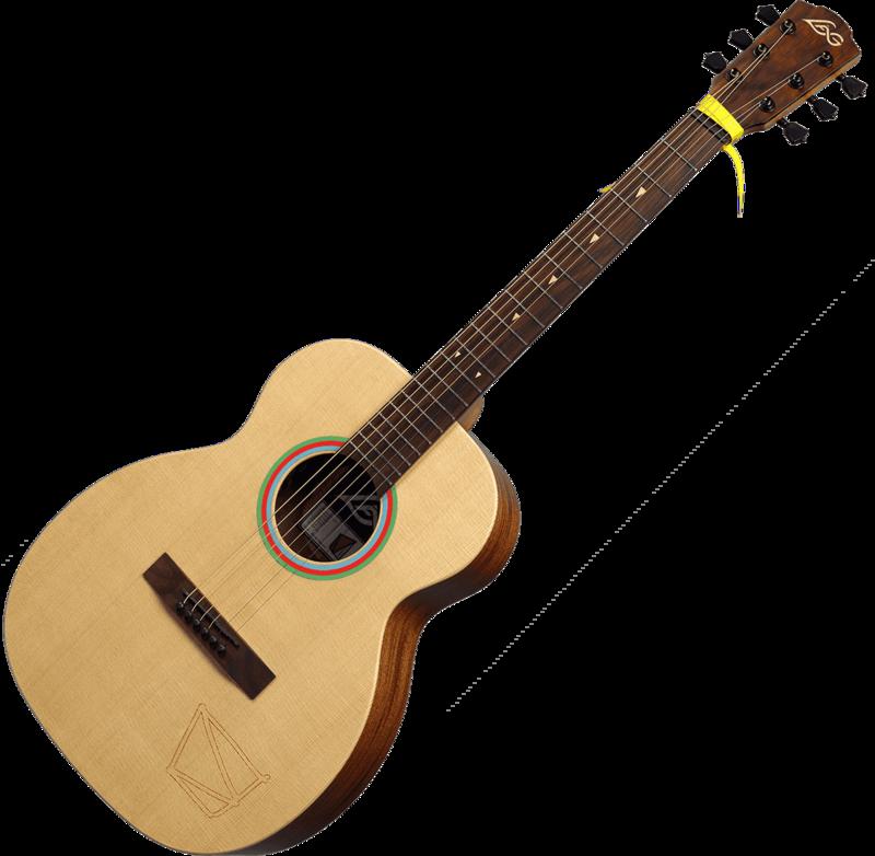 Guitare Lâg Travel Signature VIANNEY VIAN-001-2 - Voir en grand