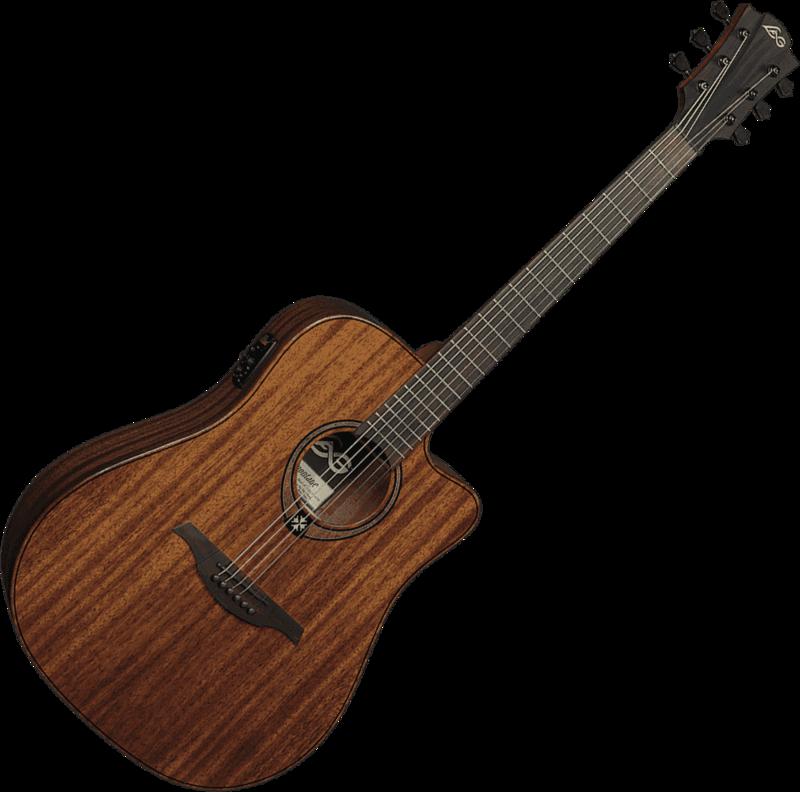 Guitare folk Lâg T98DCE - Voir en grand