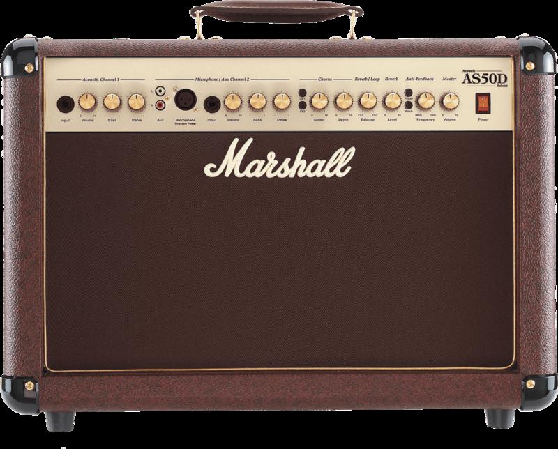 Amplis acoustiques MARSHALL AS50D - Voir en grand