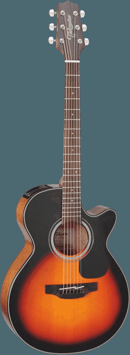 Guitare folk Takamine GF30CEBSB - Voir en grand