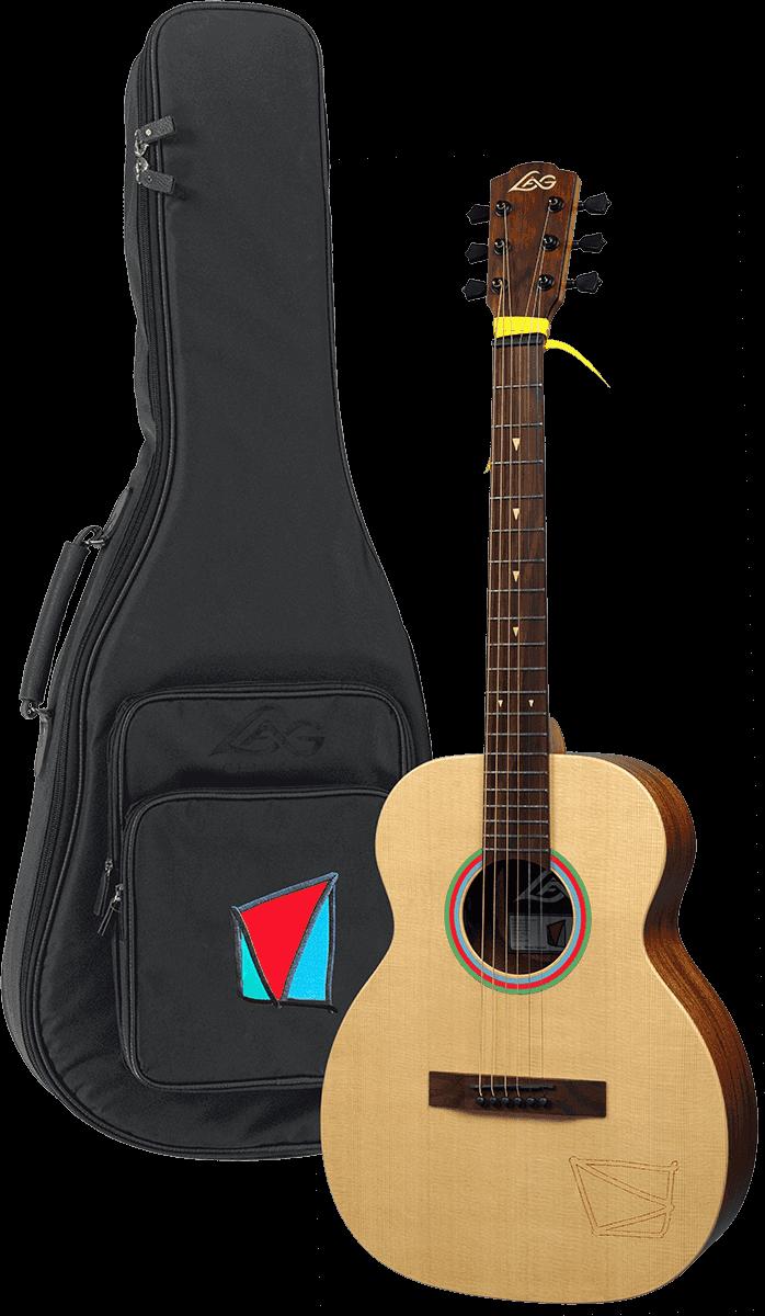 Guitare Lâg Travel Signature VIANNEY VIAN-001 - Voir en grand