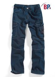 Pantalon workfashion BP en denim stretch