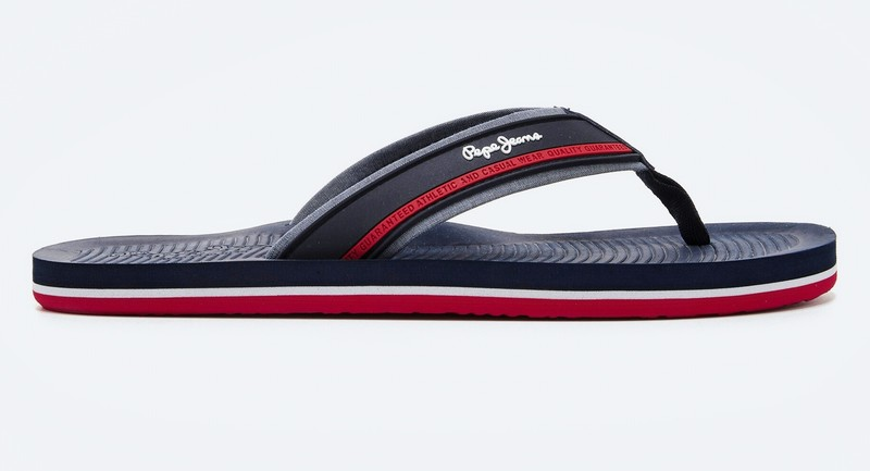 Tong PEPE JEANS SAOUTH BEATCH Navy PMS70106 - Voir en grand