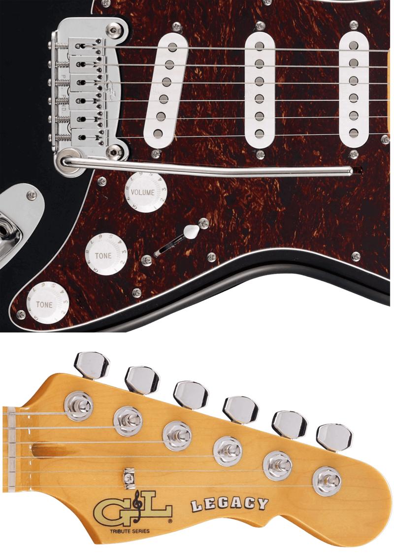 Guitare G&L Standard TLEG-BLK-M.2 - Voir en grand