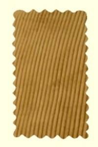 velours beige - Pantalon Largeot - BENOIT ABBAYE - Voir en grand