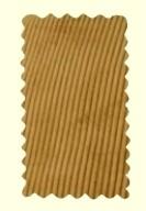 Velours beige - Pantalon Largeot -BENOIT ABBAYE - Voir en grand