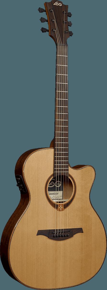 Guitare folk Lâg T118ACE - Voir en grand