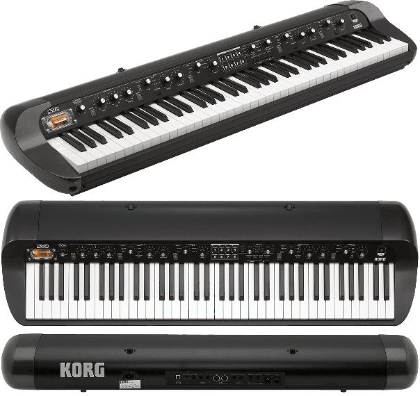 Piano numérique Korg SV2-73. - Voir en grand