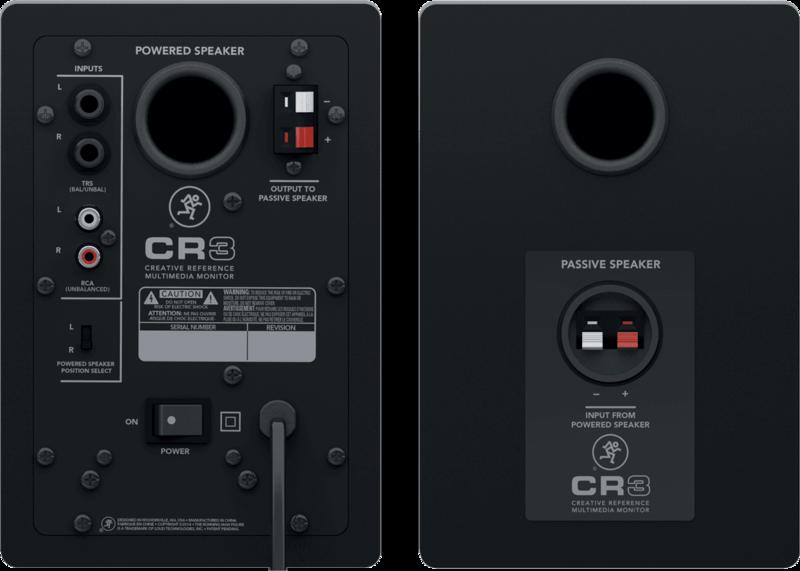 Enceintes de monitoring CR3-2 - Voir en grand