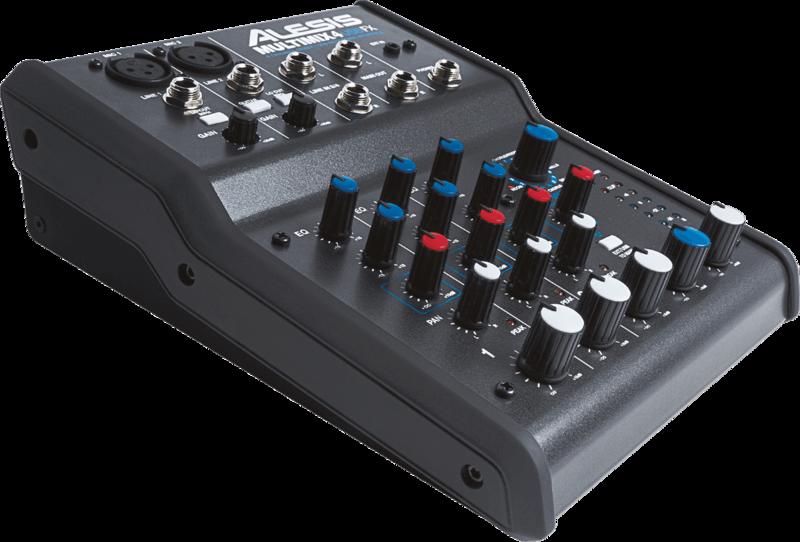 Table de mixage Alesis MM4USBFX - Voir en grand