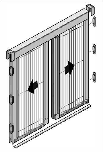 Moustiquaire plissée pour portes 2 vantaux centraux.jpg - Voir en grand