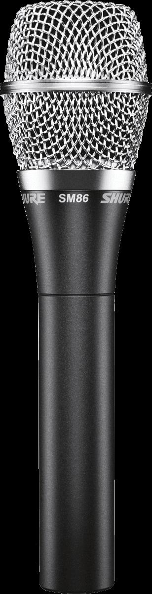 Micro Shure filaire SM86 - Voir en grand
