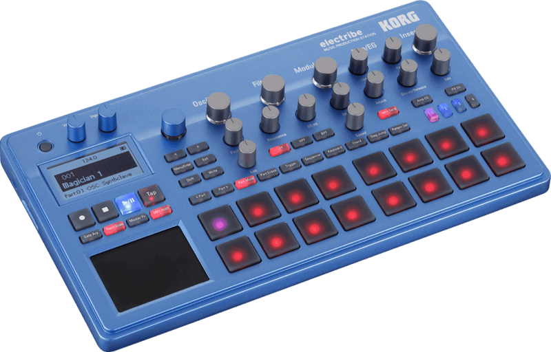Electribe Korg Synthé & séquenceur ELECTRIBE2-BL - Voir en grand