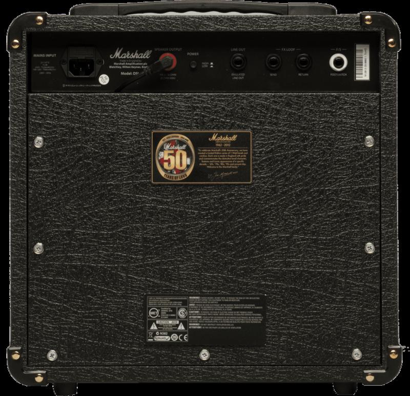 Ampli Marshall DSL1COMBO-2 - Voir en grand