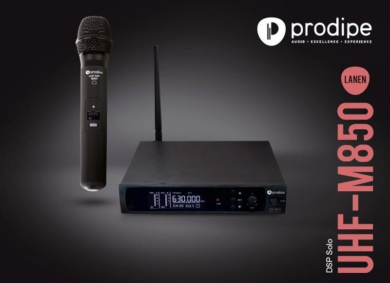 Micro Prodipe UHF M850 DSP Solo - Voir en grand
