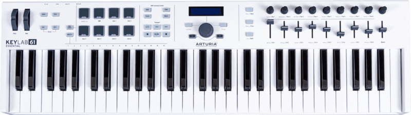 Clavier maître Arturia ESSENTIAL-61 - Voir en grand