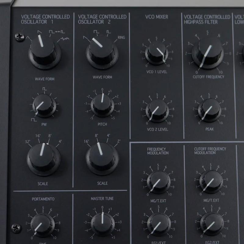 Synthétiseur Korg MS20-MINI-4 - Voir en grand