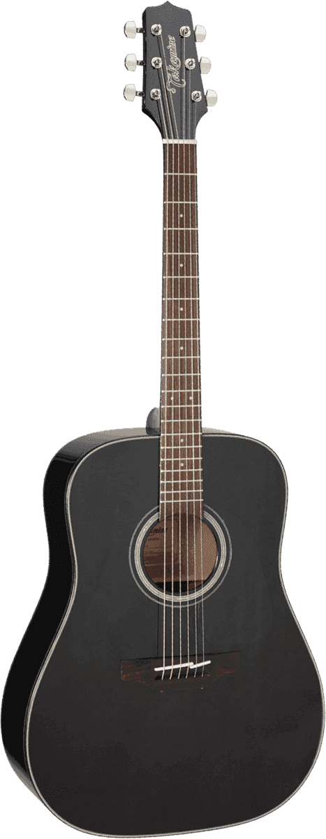Guitare folk Takamine GD30BLK - Voir en grand