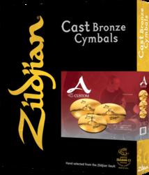 Pack Cymbales A Custom A2C4P-I7 - Voir en grand