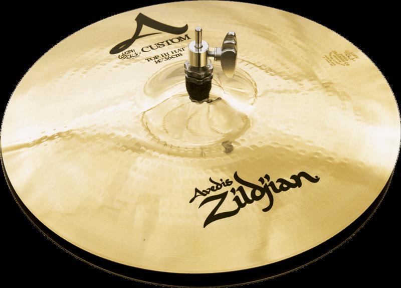 Pack Cymbales A Custom A2C4P-I7-2 - Voir en grand
