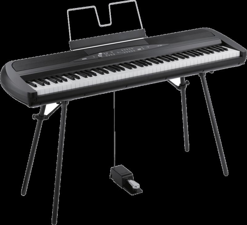 Piano numérique Korg SP280-BK-2 - Voir en grand