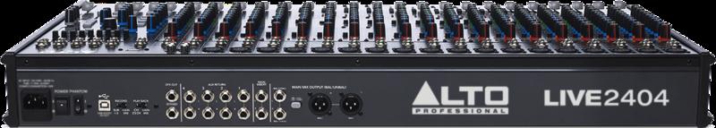 Table de mixage Alto LIVE2404-2 - Voir en grand