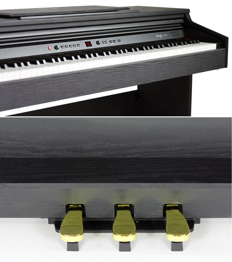 Piano numérique Adagio DP150BK-2. - Voir en grand