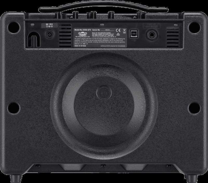 Ampli Vox VX50-GTV-2 - Voir en grand