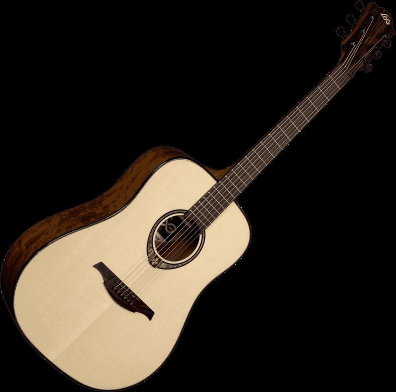 Guitare folk Lâg T318D - Voir en grand