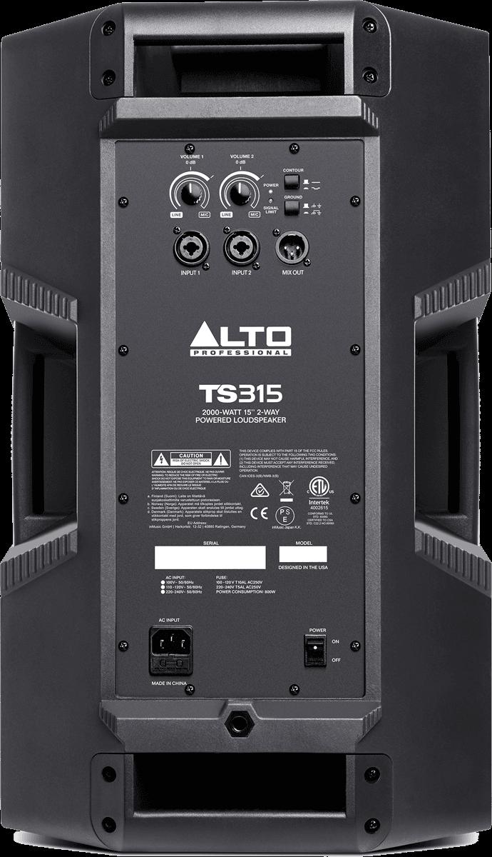 Enceinte Alto Pro SONO TS315 - Voir en grand