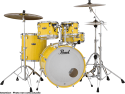 Batterie Pearl Jazz18 DMP984C-228-Solid Yellow - Voir en grand