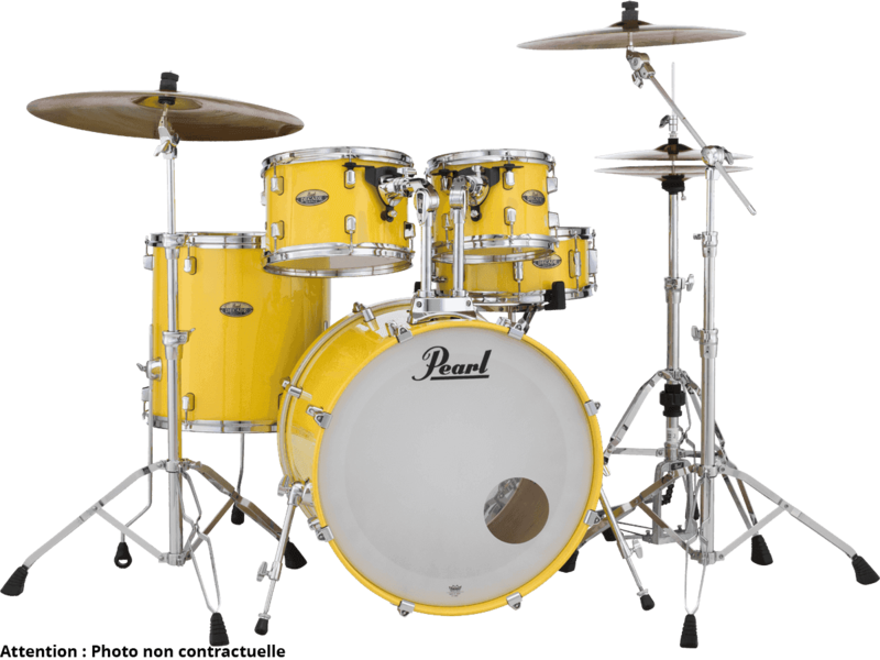 Batterie Pearl Jazz18 DMP984C-228-Solid Yellow - Voir en grand