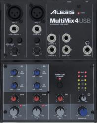 Tables de mixage Alesis MM4USB - Voir en grand