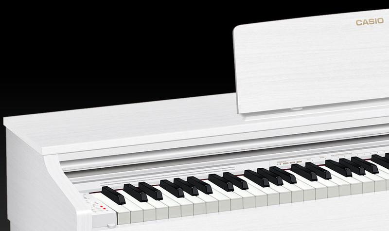 Piano numérique Casio AP-270 blanc - Voir en grand