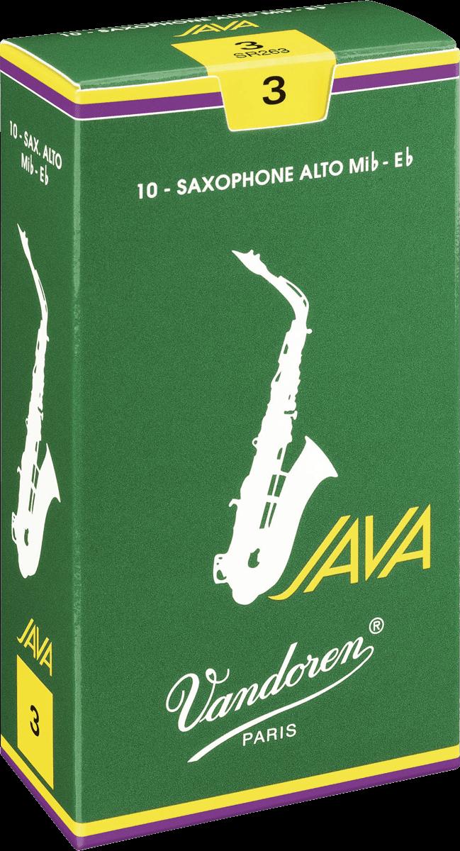 Anches Saxophone Alto Mib Vandoren Java - Voir en grand