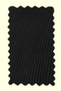 velours noir - Pantalon Largeot - BENOIT ABBAYE - Voir en grand