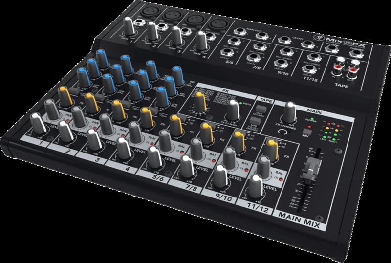 Console de Mixage Mackie MIX12FX - Voir en grand