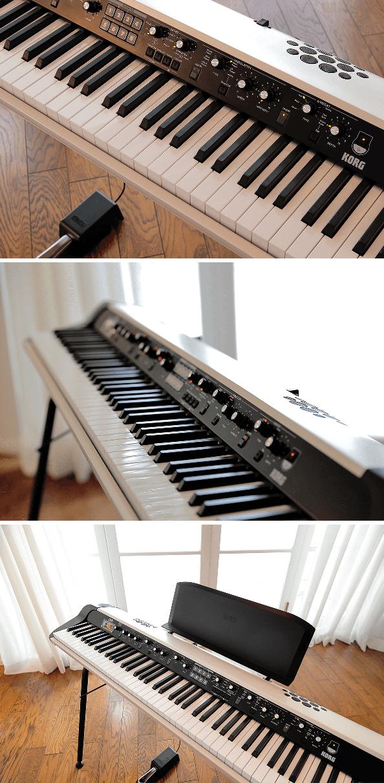 Piano numérique Korg SV2S-88 Vintage-2 - Voir en grand