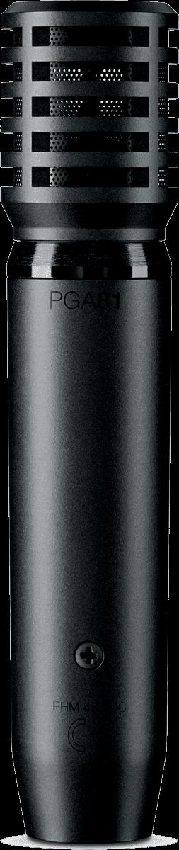 Micro filaire Shure PGA81-XL - Voir en grand