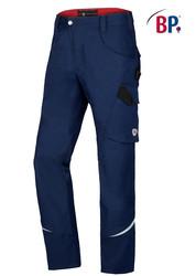 Pantalon de travail homme BPlus Bleu nuit - Voir en grand